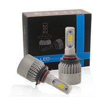 72W Cars HB3 9005 LED Bulb H11 H7 H4 H3 LED Headlights 6500K Xenon White 12