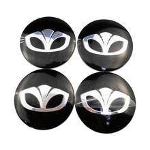 Car Styling Wheel Center Hub Emblem Badge Sticker For Daewoo Kalos Leganza Tico Lanos Nexia Matiz Winstorm Nubira Espero