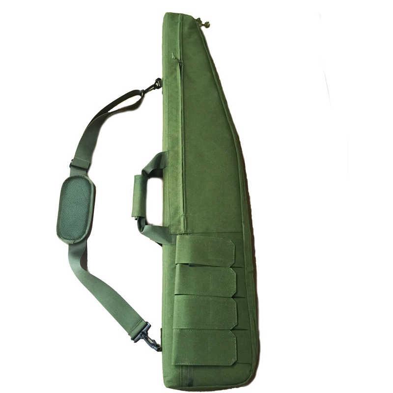 120 см тактический Чехол для винтовки военный, повышенная нагрузка Air Rifle чехол для переноски на открытом воздухе портативный рыболовный охотничий рюкзак на плечо