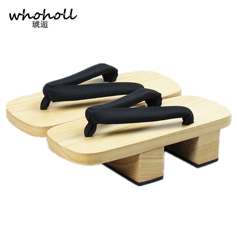 ВХОХОЛЛ Женске сандале 2017 платформа Лето Јапански гета цосплаи Кломпе ципеле Дрвене папуче сандалиа феминина