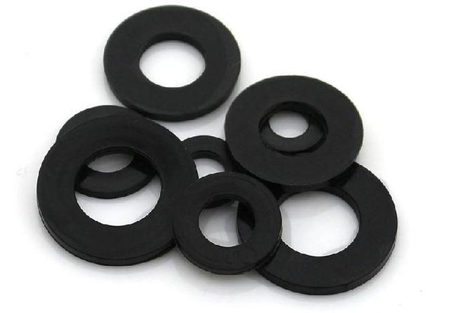 1000 OD=10mm ID=6mm thickness=1.5mm Rubber flat washe rubber,ring ...