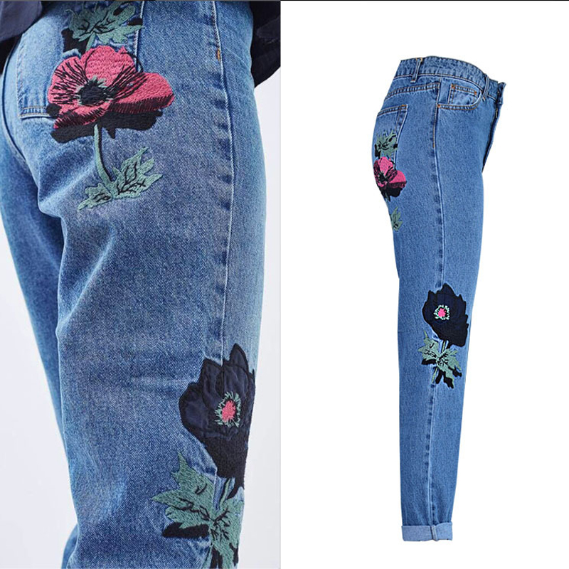 78bc1c6193c8 Witsources Holes Jeans Women High Waist Skinny Pencil Indigo Vintage Ripped  Jean SP2086USD 28.00/piece. Summer fashion new women black casual high waist  ...