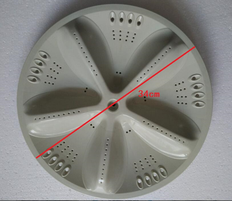 Washing Machine Parts Quality plasitc  Pulsator rotary plate 34cm 11 teeth metal gear tcl lg sakura electrolux washing machine pulsator water leaf rotary chassis 32 5 gear fittings