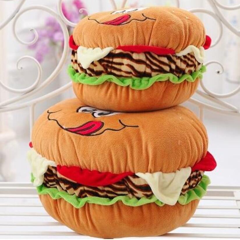 30 cm en peluche jouets hamburger oreiller ménage agir le rôle ofing est goûté super belle creative cadeau pans fantaisie drôle poupée