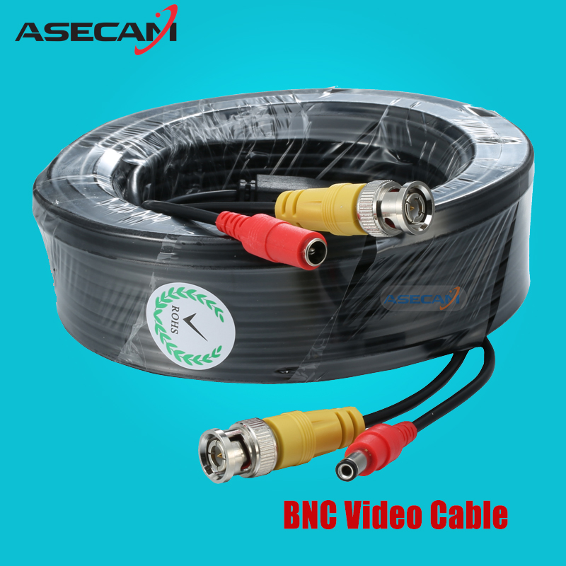 ASECAM BNC Video Cable Security CCTV Camera AHD