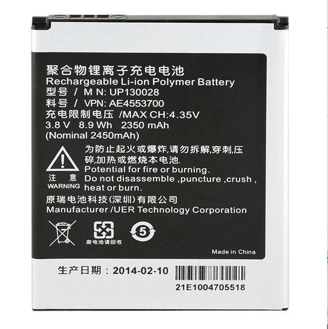 Para InFocus M210 M310 IN310 IN260 Bateria Do Telefone Móvel Bateria Original 2350 mAh UP130028