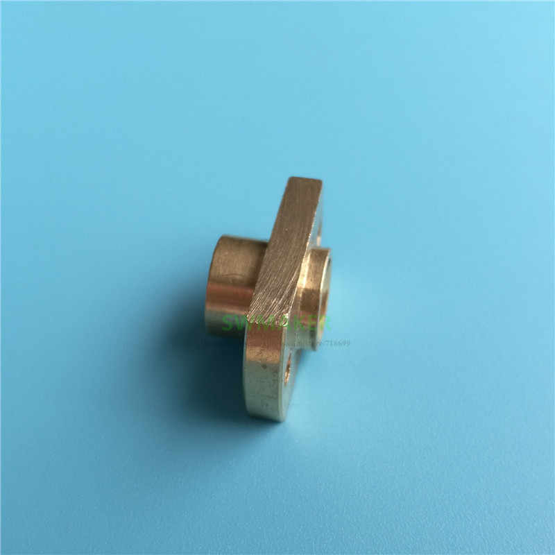 1 pcs TR8 ตะกั่วสกรูทองเหลืองคุณภาพสูงสำหรับ Creatily CR-10 หรืออื่นๆ clone 3D เครื่องพิมพ์