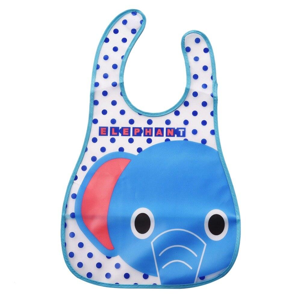 Fashion Cartoon Baby Soft Bibs Waterproof Cartoon Bib Burp Cloths For Children Self Feeding Care