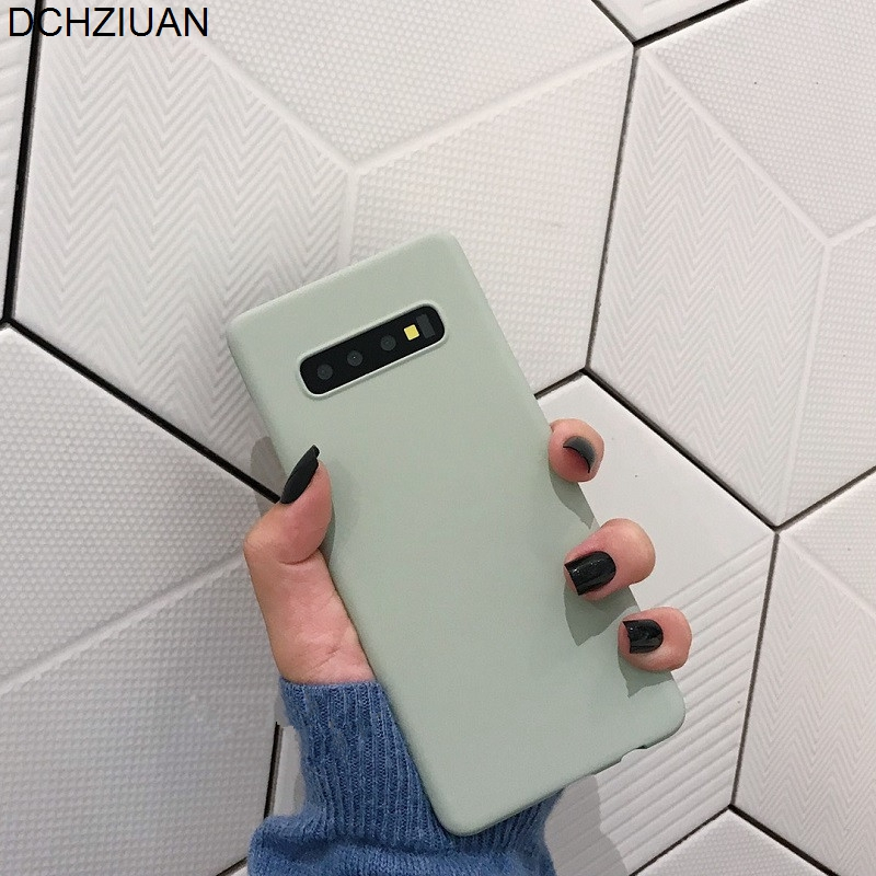 Handytaschen & -hüllen Zielstrebig Dchziuan Reine Farbe Mode Telefon Fall Für Samsung Galaxy S10 S10 Plus S10e S8 S9 Plus Hinweis 9 8 Hard Pc Plain Fall Abdeckung Fundas Clear-Cut-Textur