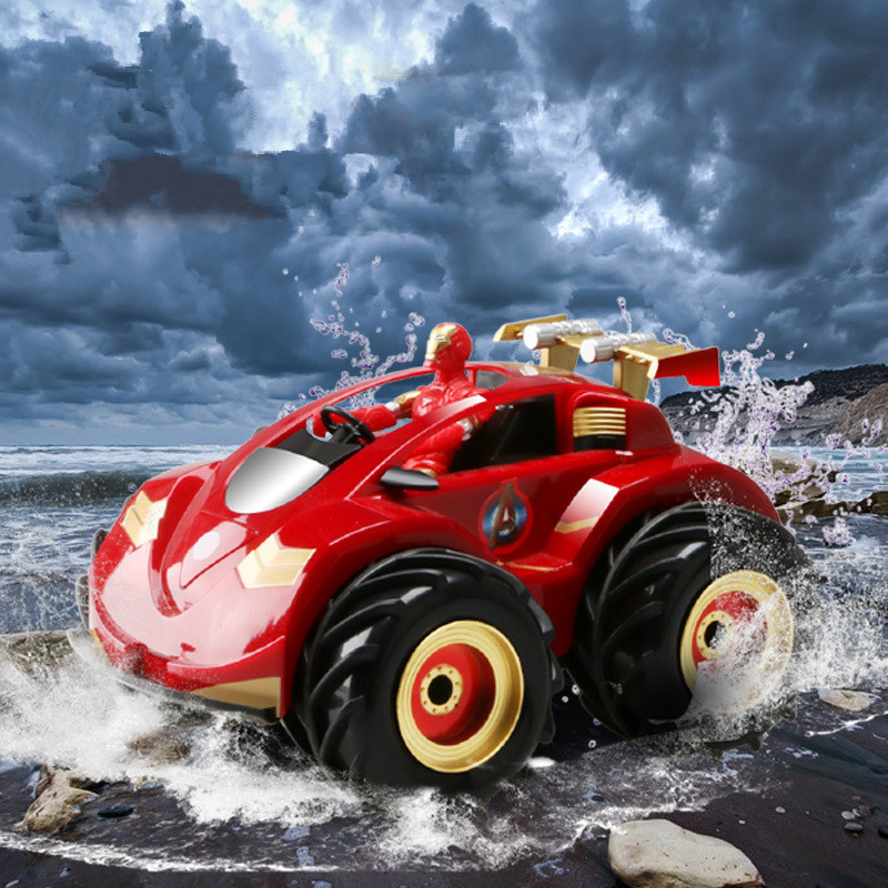 цена на new high speed off-road vehicle rc car Man amphibious 4WD electric Remote Control racing Car remote control car toy child gifts