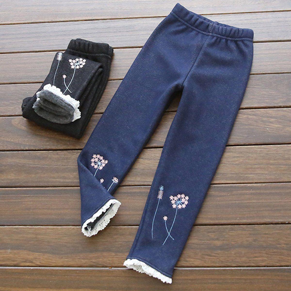 Popular Fleece Lined Leggings Girls-Buy Cheap Fleece Lined ...