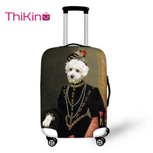 Thikin 2019 Printing Animals Pattern Travel Luggage Cover Cat Suitcase Protective Bag Protector