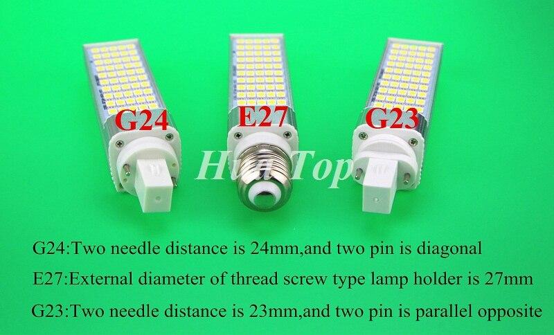 Lâmpadas Led e Tubos smd5050 milho bulb spot light Comprimento : 125-195mm