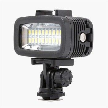 40M Waterproof Diving LED 20LED Diving Fill Light Photographic Lighting Diving Lamp For Gopro Hero 4 3+ 3 SJCAM SJ4000 SJ5000