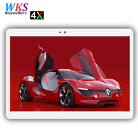Newest 10 inch 4G phone Android 7.0 tablet pc 10 core 4GB+64GB 1920*1200 HD 2.5D screen IPS Dual SIM Card Smart Tablets FM WIFI