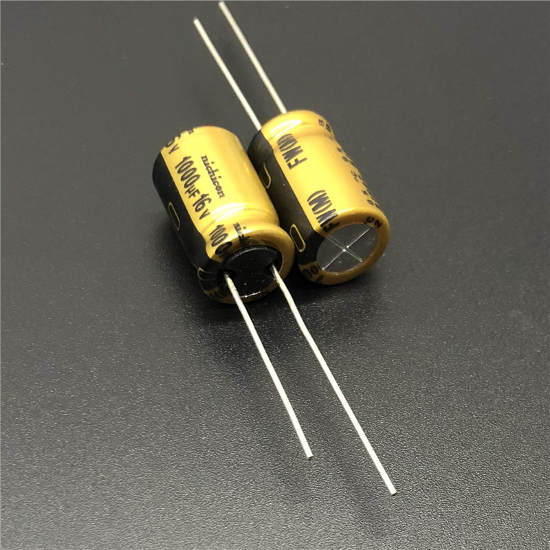 5pcs/20pcs 1000uF 16V NICHICON FW Series 10x16mm 16V1000uF HiFi Audio Capacitor
