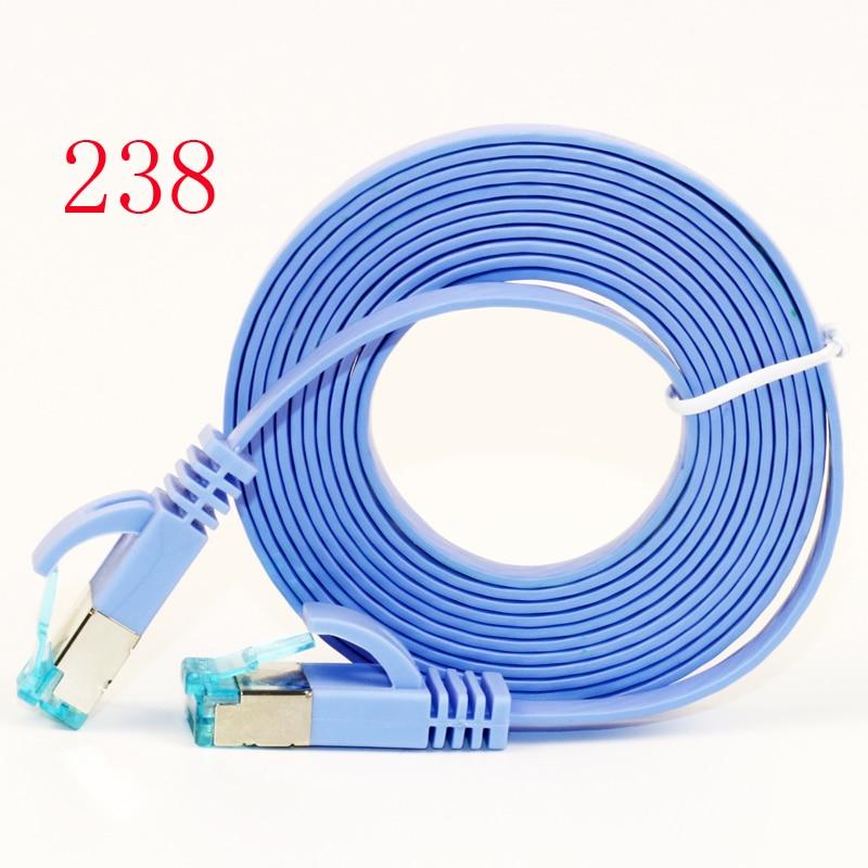 2018 Chat 6 Réseau LAN Câble UTP Internet Ethernet Câble Patch Connecteur Cordon Outils Pour PC Ordinateur Portable