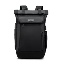 OZUKO New Multifunction Men Backpack USB Charging Laptop Backpacks for Teenager Fashion Schoolbag waterproof Travel bag Mochila