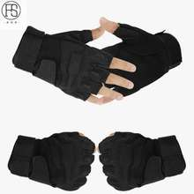 Tactical Outdoor Working Fingerless Gloves Men Hunting Cycling Motorcycle Sports US Military Gloves