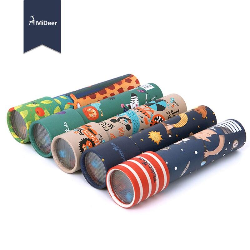 Imaginative Cartoon Animals 3D Kaleidoscope Paper Card Kaleidoscope Colorful World Toys Interactive Toys Kids Gifts 1pcs 11-365