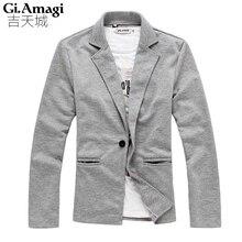 Mode 2016 Neue Design Männer Blazer einreiher Männer Anzug Persönlichkeit Casual Blazer Für Männer Blazer Slim Fit Jacke männer