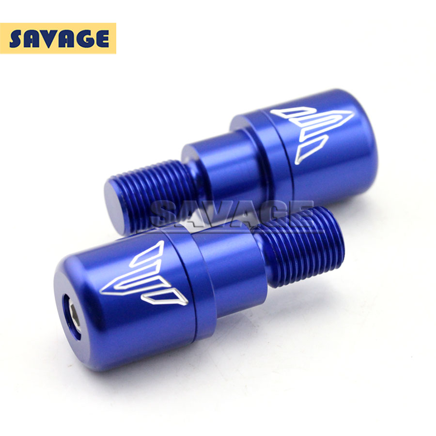 Подробнее о For YAMAHA MT07 MT-07 FZ-07 2014-2016 XSR 700 Blue Motorcycle CNC Billet Aluminum Bar Ends Hand Grip Handlebar End Caps Cover for yamaha mt07 fz07 mt 07 fz 07 2014 2015 motorcycle cnc billet aluminum front fork cover caps blue free shipping