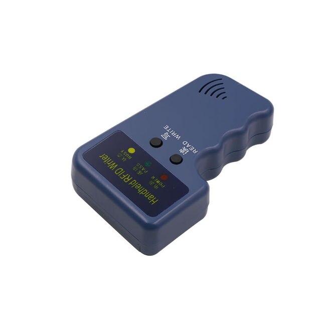 Handheld 125Khz EM4100 RFID copier / writer / duplicator(T5557/T5577/EM4305)  free 10pcs writable keychains and 10pcs cards