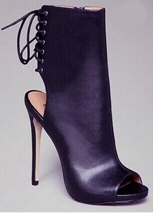 Elegant font b Shoes b font font b Women b font Autumn Spring Peep Toe Solid