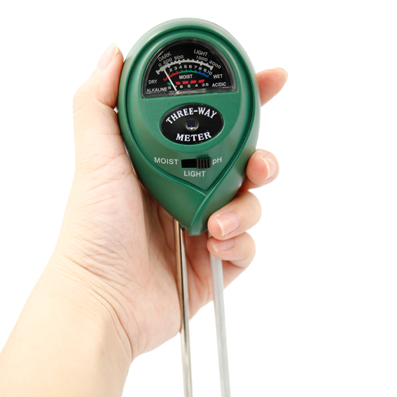 3 in 1 digital soil moisture PH meter humidity acidity Acidity moist sunlight meter tools недорго, оригинальная цена