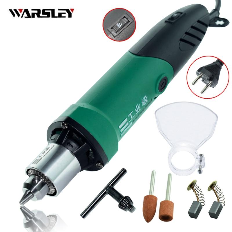 Dremel Stile 480 W Mini Trapano Elettrico incisore con 6 Posizioni A Velocità Variabile forDremel Attrezzi Rotanti con Albero Flessibile e