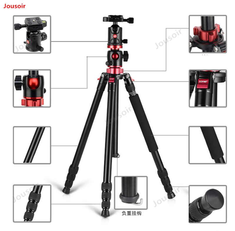 M8 mid-tripé de câmera SLR tripé suporte de eixo transversal único-legged bagageiro cruz braço câmera CD50 T03