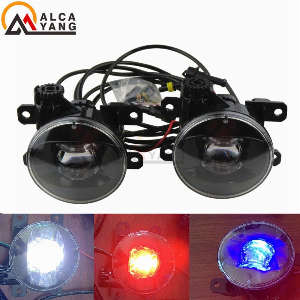 With Devil Eye Fog Lamp for Suzuki Swift Alto Jimny SX4 LED Fog Light Auto Fog Lamp LED model Car Styling