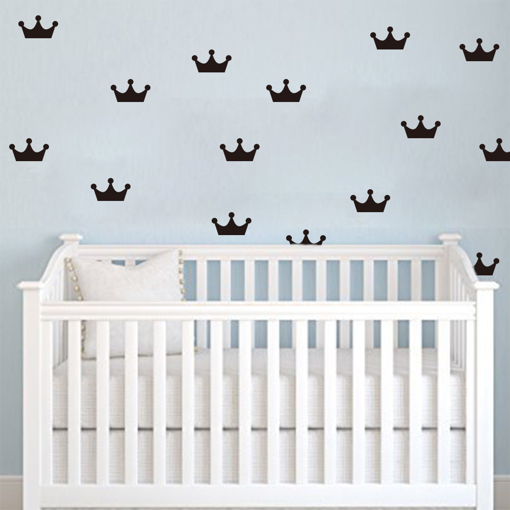 popular easy decorations buy cheap easy decorations lots from cartoon crowns wall stickers diy wall decals for kids room decor easy wall art cut vinyl
