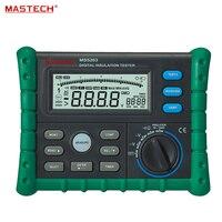 Portable Digital Megger Digital Insulation Resistance Tester Meter 50V/100V/250V/500V/1000V MS5203