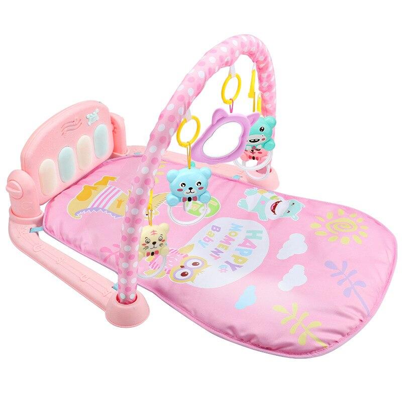 Tapis de jeu pour bébé tapis pour enfants tapis de Puzzle éducatif avec clavier de Piano tapis de jeu Animal mignon tapis de sport pour bébé tapis d'activité rampant jouets 49