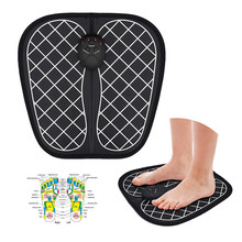 Unisex Electric Foot Massager Muscle Stimulator Wireless ABS Physiotherapy Low Frequency Tens Foot Acupoint Relaxation Patch vibration physical therapy heating wrist massager muscle joint acupoint treatment and relaxation wireless hand massager t0042cm