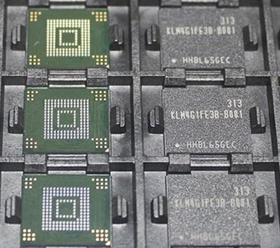 10pcs/lot KLM4G1FE3B-B001 KLM4G1FE3B B001 BGA Chipset