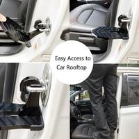 NewFoldable Auto Voertuig Vouwen Stepping Ladder Voetsteunen Gemakkelijk Toegang Tot Auto Rooftop Met Veiligheid Hamer Voor Auto
