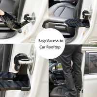 Nouveau véhicule de voiture pliable pliant escabeau pied chevilles accès facile au toit de voiture avec marteau de sécurité pour voiture