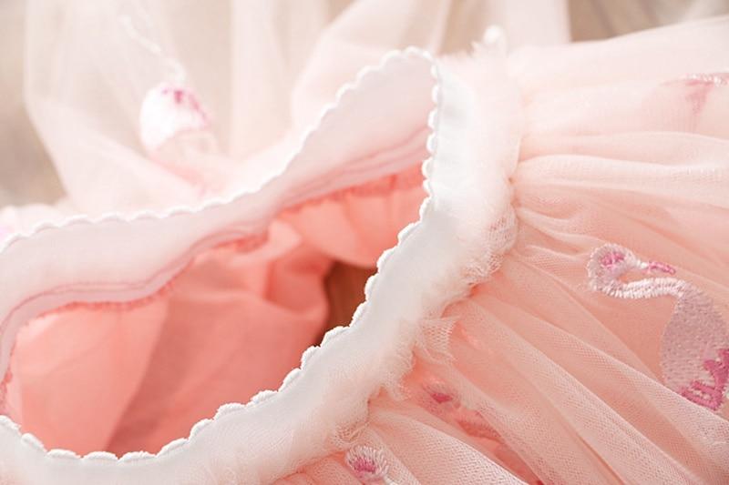 HTB1c4pfUkvoK1RjSZFwq6AiCFXau Girls Clothing Sets 2019 Summer Princess Girl Bling Star Flamingo Top + Bling Star Dress 2pcs Set Children Clothing Dresses