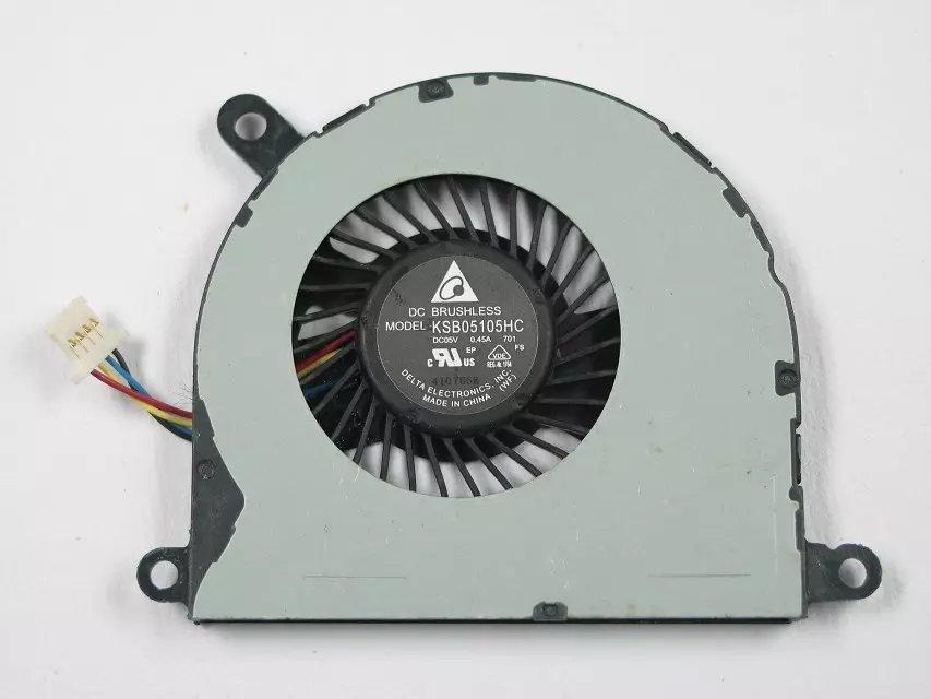 Delta KSB05105HC DC 5V 0.45A Server Laptop fan 4-wire free shipping for sunon eg50040v1 c06c s9a dc 5v 2 00w 8 wire 8 pin server laptop fan