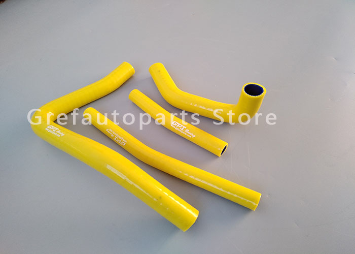 silicone radiator//coolant hose Suzuki RM250 RM 250 1996-2000 1997 98 99 yellow