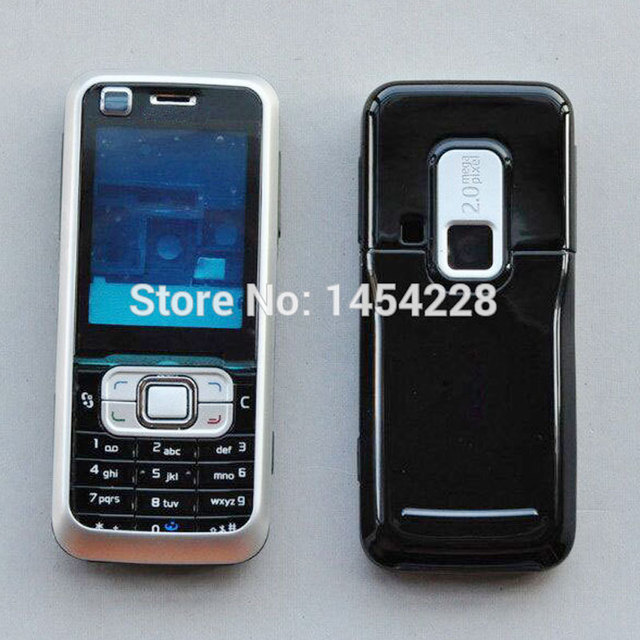 US $4 9 |BINYEAE Full Housing For Nokia 6120 6120C Case Cover Facing Frame  + Middle + Back Cover + Keypad Cell Phone Part-in Mobile Phone Housings