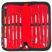 Dental lab gereedschap, carving wax, wax-up tools, wax mes set, vleesmes voor wax(China)