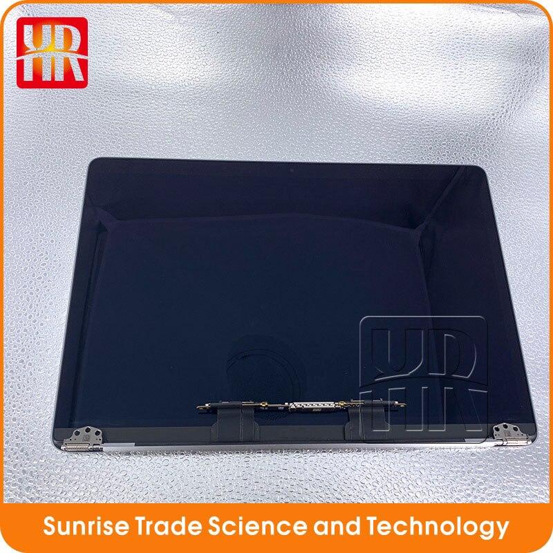 Ctmogove prata espaço cinza a1706 a1708 tela lcd assembléia para macbook retina 13