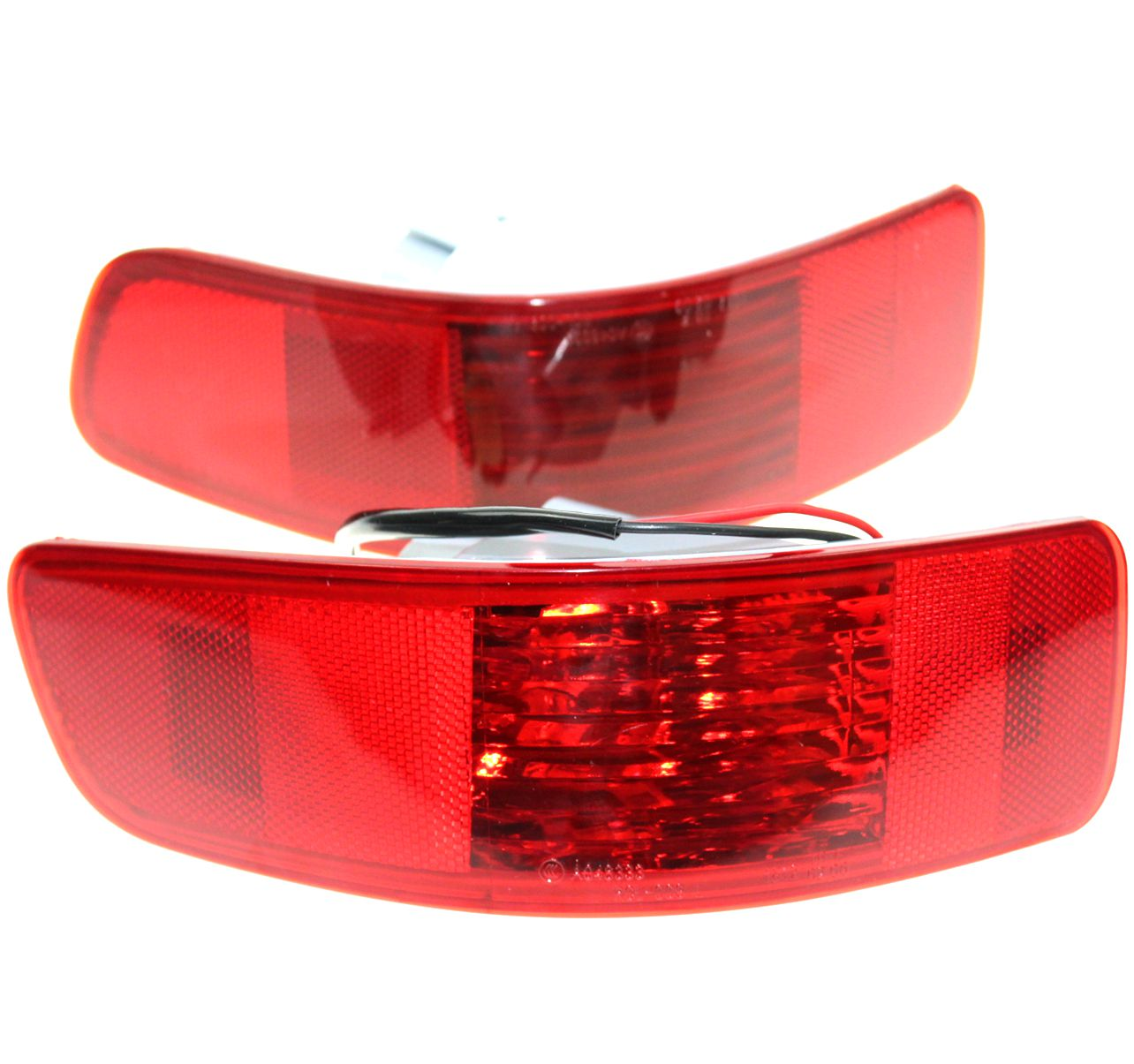LARBLL Pair Rear Bumper Right Left Tail Fog Light Lamp Fit for Mitsubishi Outlander PEUGEOT 4007 2007-2012 CITROEN C-Crosser 1 pc rh without bulb tail bumper fog light rear fog lamp right for mitsubishi outlander 2013 2015