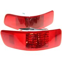 Pair Rear Bumper Right Left Tail Fog Light Lamp Fit For Mitsubishi Outlander 2007 2012 PEUGEOT