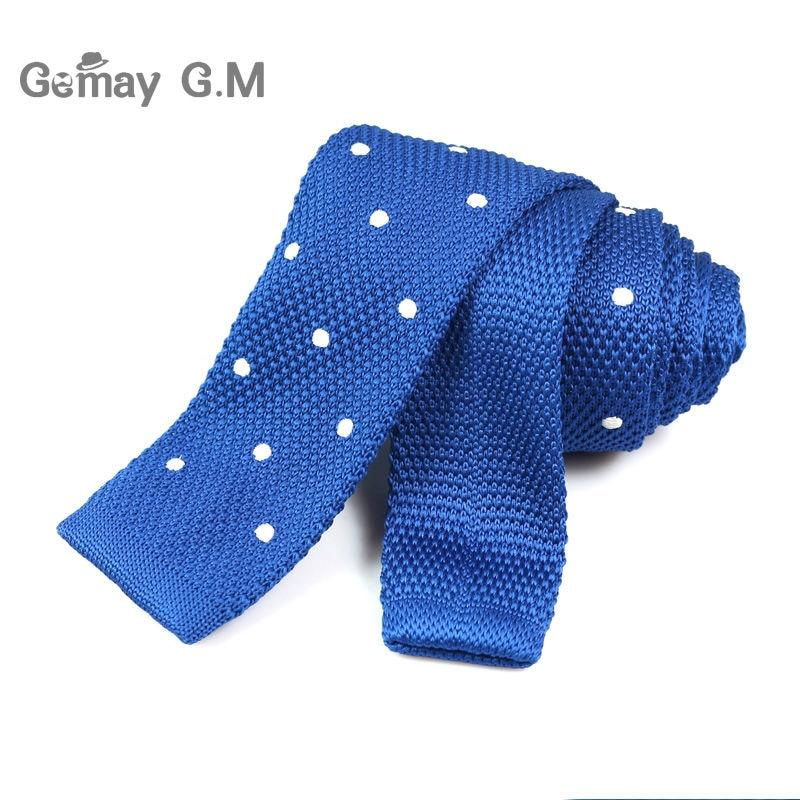 Corbatas finas tejidas de punto para hombres nuevos Corbatas de - Accesorios para la ropa - foto 4