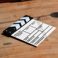 Wood Movie Style Blackboard Creative Office Message Recording Teaching Supplies Wooden Chalkboard Message DIY Whiteboard