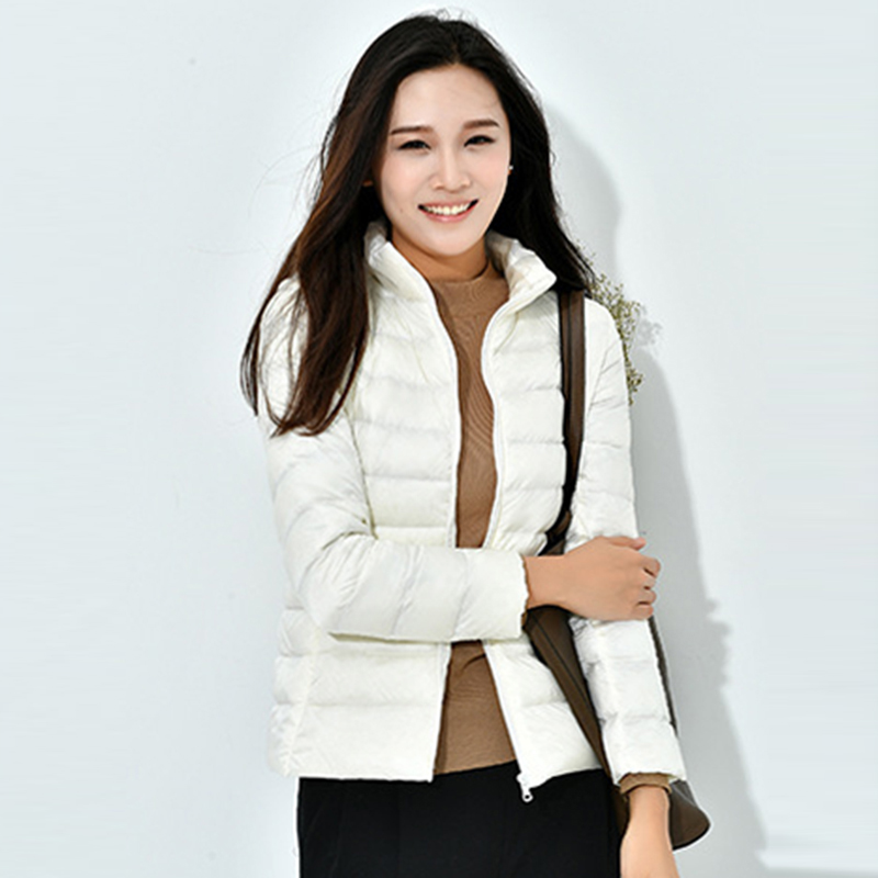 Ultra Light Women   Down     Coats   Spring Autumn Short Oversize Loose   Down   Jacket Outwear Female Casual   Down     Coat   Plus Size YP2009